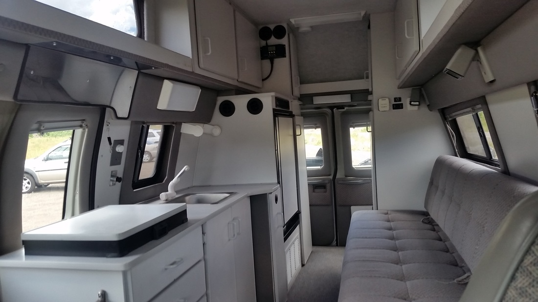 Sportsmobile 4x4 Camper Van for Sale! - Miles in the Mirror